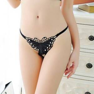 6e35891af2a 1pc Sexy Women Leopard Butterfly Underwear Panties G-string Lingerie ...