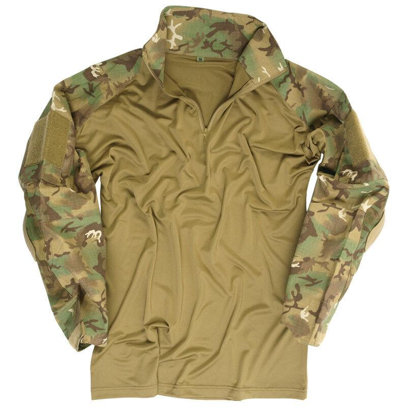 Esercito Tattica Di Combattimento Guerriero uomo Pads Shirt Gomito Airsoft Ar