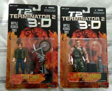 Terminator 2 3D T2 Figura De Acción John Connor & Caliente Blast Kenner 1997