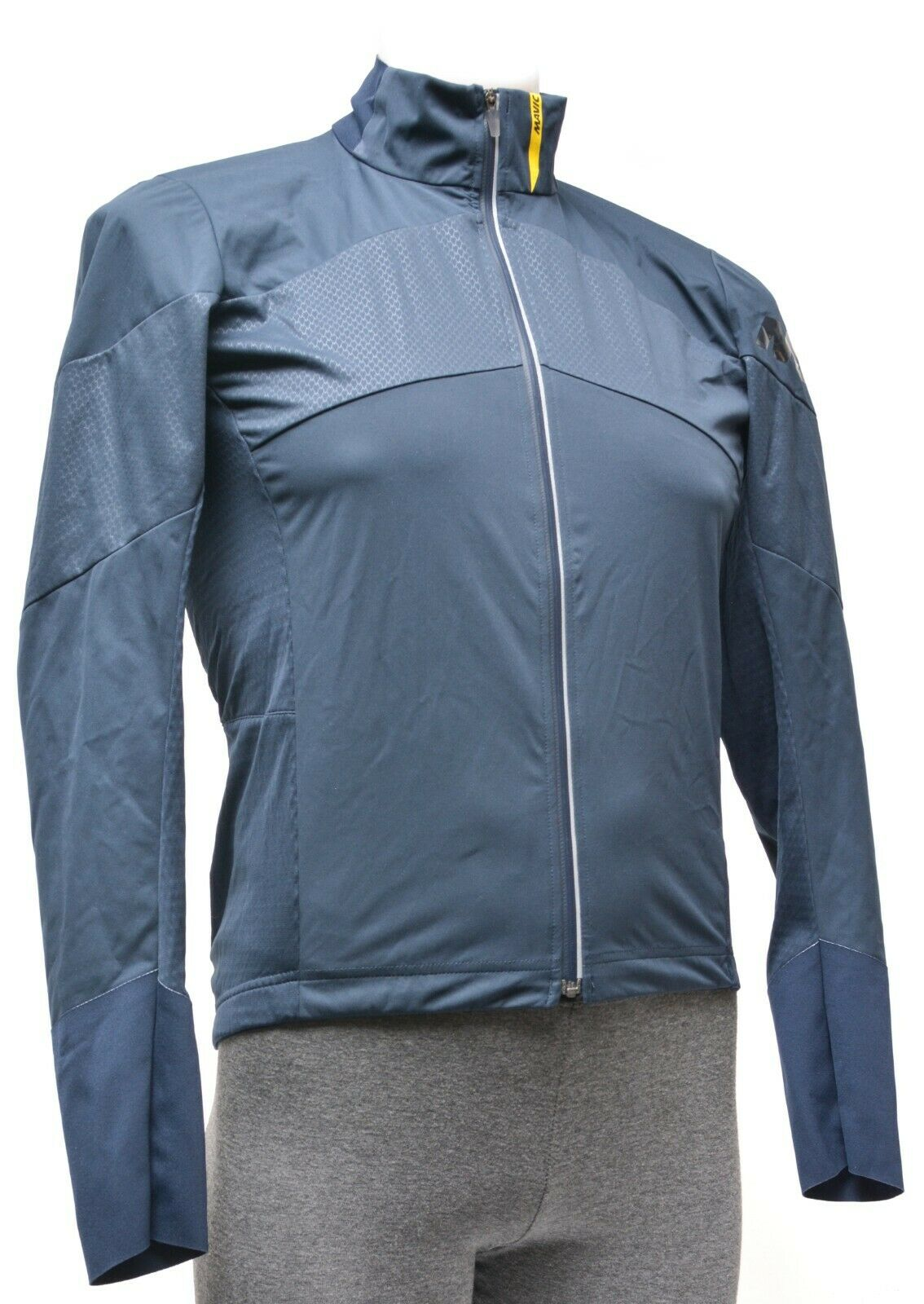 Mavic Cosmic Pro Softshell Jacket Men SMALL Eclipse Blau Road Bike MTB CX Tri