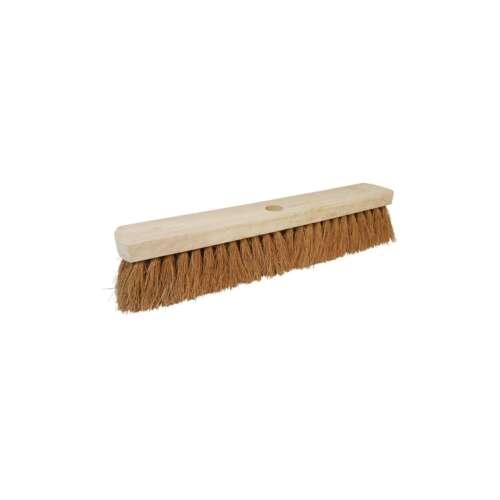 """763607 Broom Head Soft Coco Contractors 18/"""" Silverline 457mm"""
