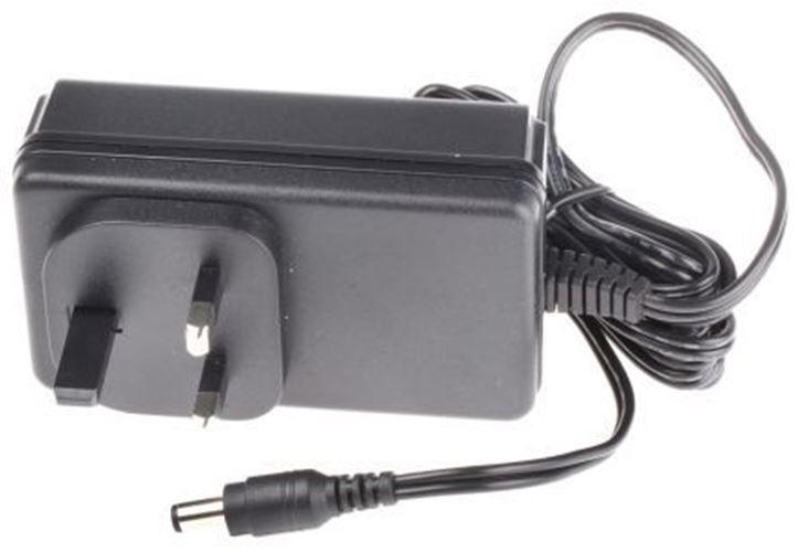 RS pro, 60 W d'alimentation plug-in d'alimentation W 12 V, 0 â??? niveau 5 A V 1 sortie, 2.1 x 5.5 x 9.5 374aa8