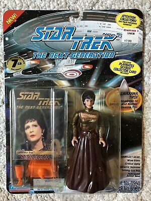 1994 Lwaxana Troi Action Figure Vintage Star Trek Next Generation Playmates Toys