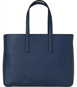 Bleu Grand Sac Klein Calvin Shopping Edge 0xHqXw
