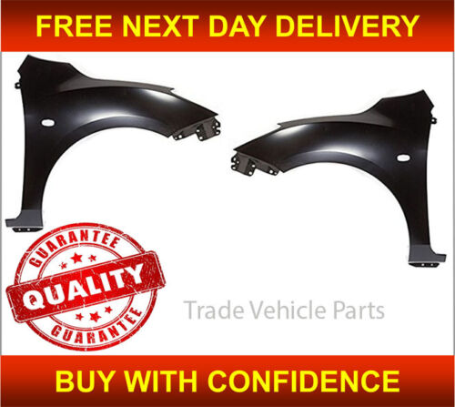 MAZDA 3 2009-2014 FRONT WING PRIMED PAIR LEFT /& RIGHT INSURANCE APPROVED NEW