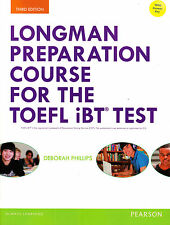 LONGMAN Preparation Course for TOEFL iBT Test w Answers ONLINE ACCESS 3rd Ed NEW