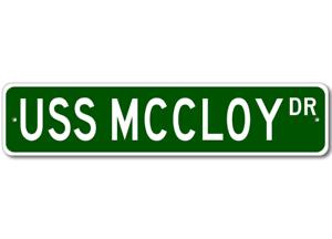 USS-MCCLOY-FF-1038-Ship-Navy-Sailor-Metal-Street-Sign-Aluminum