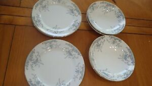 Seville Imperial China Bread Butter Dessert plates Fruit bowls 4 Bread 4 bowls