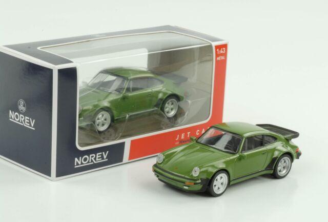 Porsche 911 930 Turbo 1978 Jet car Vert 1:43 Norev Diecast
