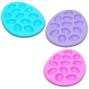 3pc-12-034-BLUE-PINK-PURPLE-EGG-SHAPED-SERVING-TRAY-SET-deviled-plate-dish-H18