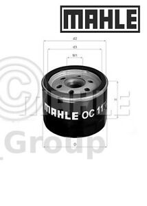 Genuine MAHLE Replacement Screw-on Engine Oil Filter OC 11 OC11