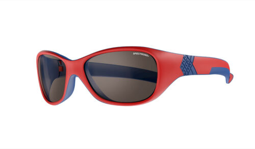 Solan Sunglasses in Red with Spectron 3 Julbo Kids Protection Lenses Ages 4-6
