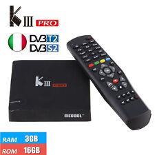 KIII Pro DVB T2/S2 3G 16G TV Box Android 6.0 Amlogic S912 Dual WIFI TV BOX