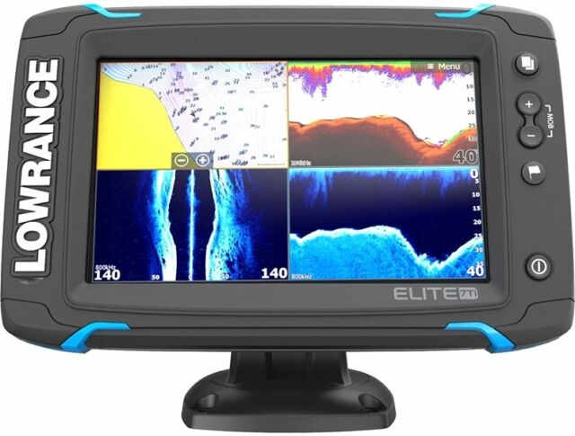 Lowrance 055-12419-001 Elite-7 Ti Touch Combo TotalScan Transducer Refurbished