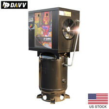 75 Hp 55kw Rotary Screw Air Compressor 18cfm175psi 60 Gallon For Industrial