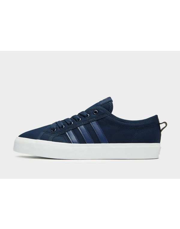 ADIDAS ORIGINAL NIZZA LO CL- MENS TRAINERS (UK 6,10 EUR 39.5,44.5)Navy BRAND New