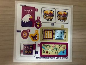 LEGO 3185 Sticker Sheet for Lego Friends Summer Riding Camp NEW Decals