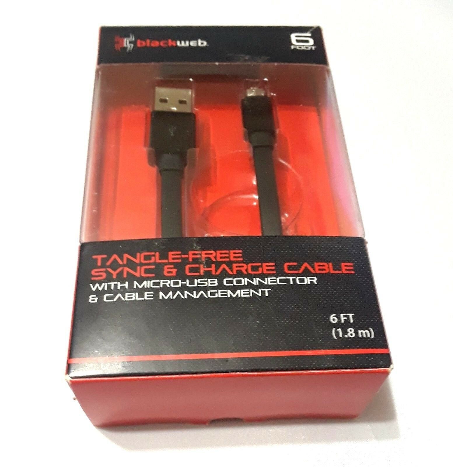 blackweb tangle free sync and charge cable review