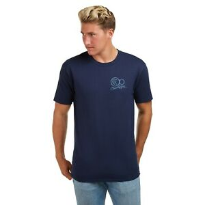 Ocean-Pacific-tonal-Core-Licencia-Oficial-Para-Hombre-T-Shirt-Navy-S-XXL