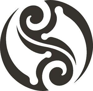 Tattoo-Inspired-Tribal-Sun-Stencil-350-micron-Mylar-not-thin-stuff-TaT0067