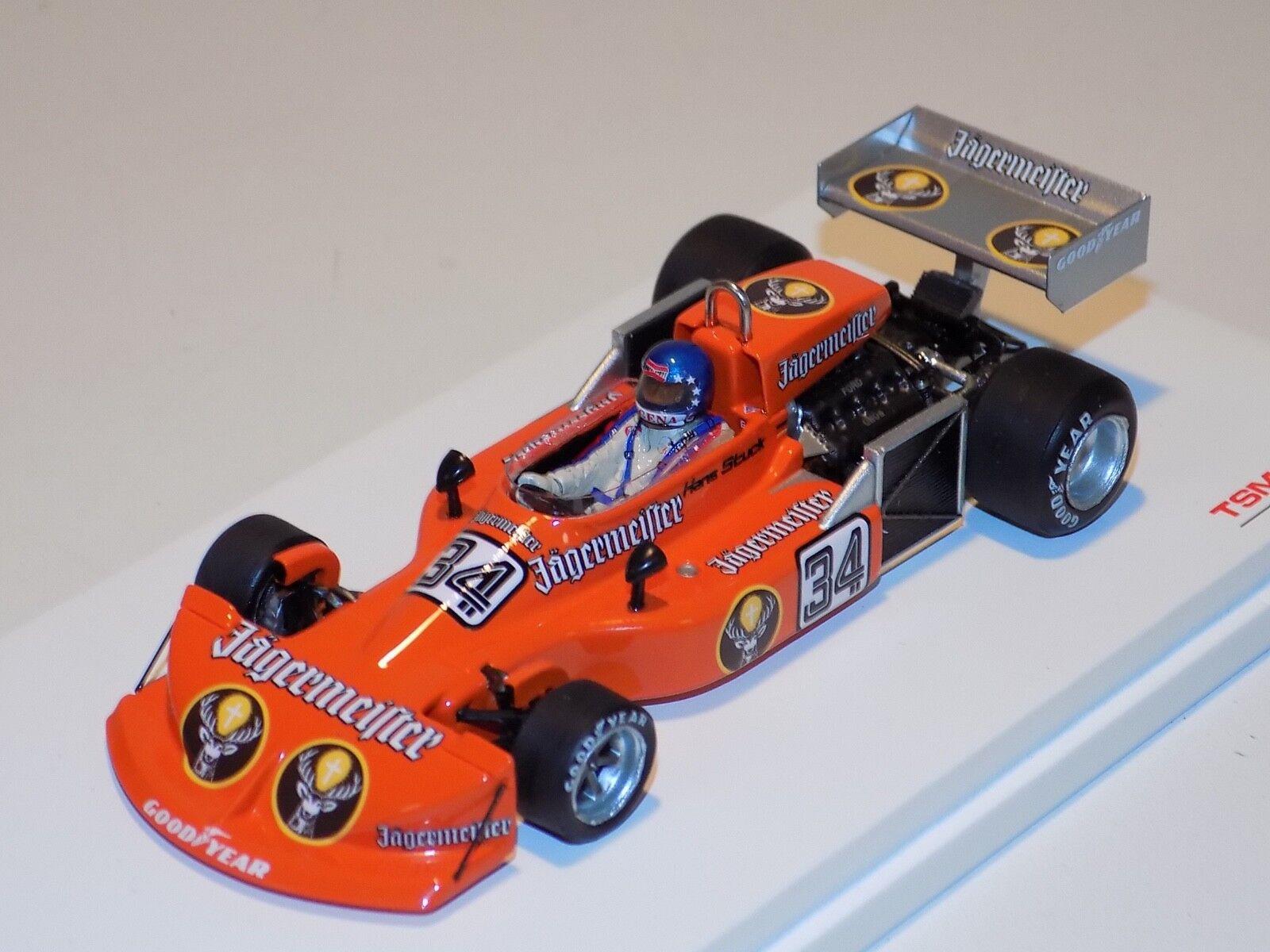 1   43 modelo a escala real TSM F1 761   1976 GP jaegermeister tsm124330 Alemania