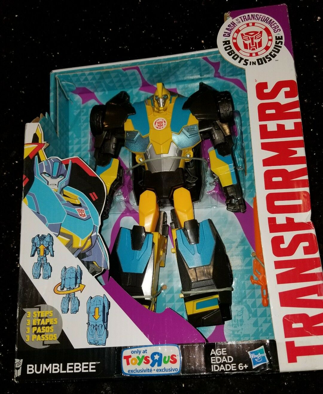 New in box Transformers Clash of the Transformers Transformers Transformers bubblebee 91fcae