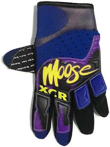 Vintage-MOOSE-XCR-Motocross-ONE-GLOVE-XL-Off-Road-MX-Racing-Riding-Dirt-Bike-90s