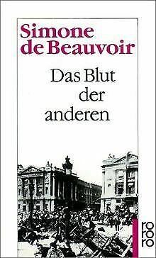 Das Blut der anderen von Beauvoir, Simone de | Buch | Zustand gut
