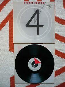 Foreigner 4 Vinyl Uk 1981 Atlantic 1st Press A1 B Up To