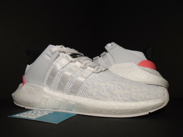 ADIDAS EQT SUPPORT 93 17 WHITE CORE BLACK TURBO PINK ULTRA BOOST BA7473 NMD R1 9