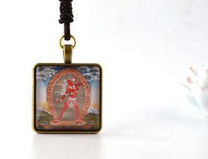 Details about BLESSED TIBETAN BUDDHISM AMULET PENDANT: VAJRAYOGINI, NARO  KHENCHARI RED TARA