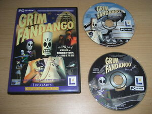 GRIM-FANDANGO-Pc-Cd-Rom-LUCAS-ARTS-CLASSIC-FAST-POST