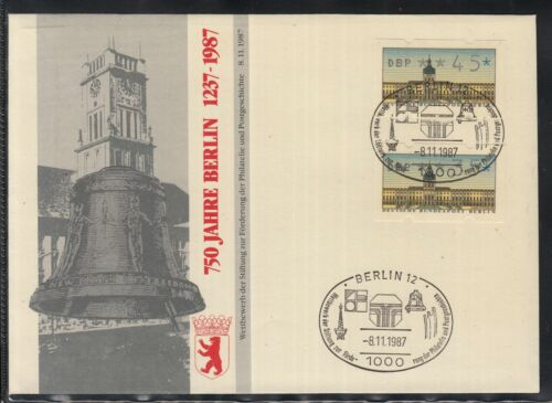 C 24 ) Germany Fantastic Cover - 750 years Berlin Liberty Bell