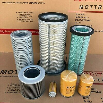 Hydraulic Filter 175-60-27380 for Komatsu Excavator PC120-1 PC120-2 PC120-3 PC120S-3