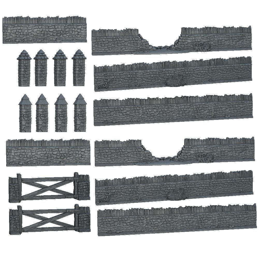 Terraincrate - Battlefield Walls  - BRAND NEW