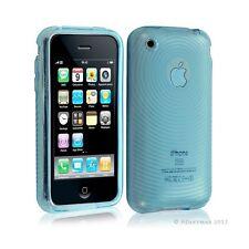 Housse étui coque en gel transparent pour Apple Iphone 3G/3Gs motif cercle coule