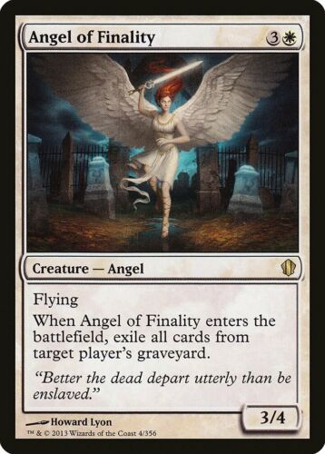 Angel of Finality Commander 2013 NM-M White Rare MAGIC GATHERING CARD ABUGames