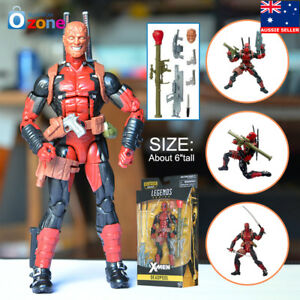 "6"" Deadpool Marvel Legends X-Men Action Figure Toys Gift"