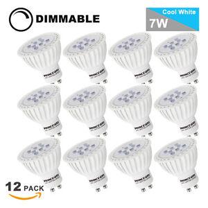 Standard-Ampoules-Spot-LED-GU10-Dimmable-7W-Lampe-LED-GU10-3000K-5000K-Lot-de-12