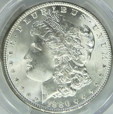 1886 Morgan Silver Dollar PCGS MS66 Sparkling White Super Luster PQ #96G