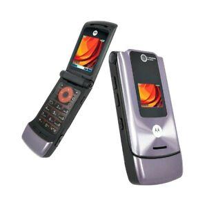 Telephone-Cellulaire-Motorola-W510-Violet-Appareil-Photo-Bluetooth-Top-Quality