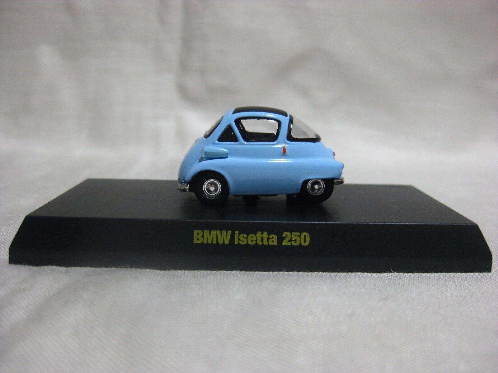 1 64 Kyosho BMW Isetta 250 blå tärningskast modelllllerler bil