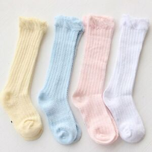 Baby-Kids-Toddler-Summer-Cotton-Knee-High-Socks-Tights-Leg-Warmer-Stockings-0-3Y
