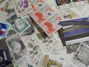 Lot-FRANCE-timbres-neufs-valeur-FACIALE-30-pour-20-LIVRAISON-GRATUITE-Vrac