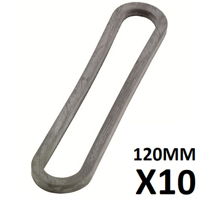 140mm x 5mm CARAVAN AWNING TENT RUBBER BANDS STRONG ANCHOR MOTORHOME NEW PACK OF 100