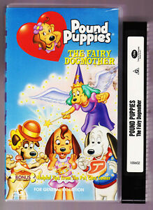RARE-POUND-PUPPIES-THE-FAIRY-DOGMOTHER-VHS-VIDEO-TAPE-1988-Vintage