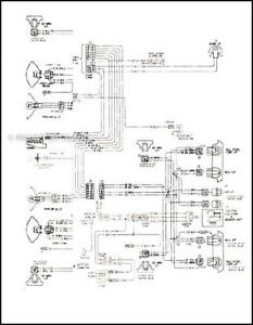 1978 Malibu Clic and Monte Carlo Wiring Diagram 78 Chevy ...