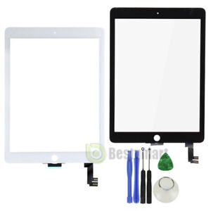 US Black Glass Touch Screen Digitizer Replacement Screen for iPad Air 2 2nd Gen