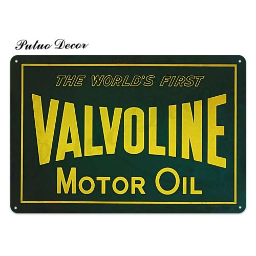 NEW Vintage Motor Oil metal plaque Garage Retro tin sign for Gas Station Bar