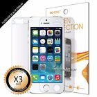 3x Anti-Glare Matte Full Body Front Back Screen Protector Guard for iPhone 5S